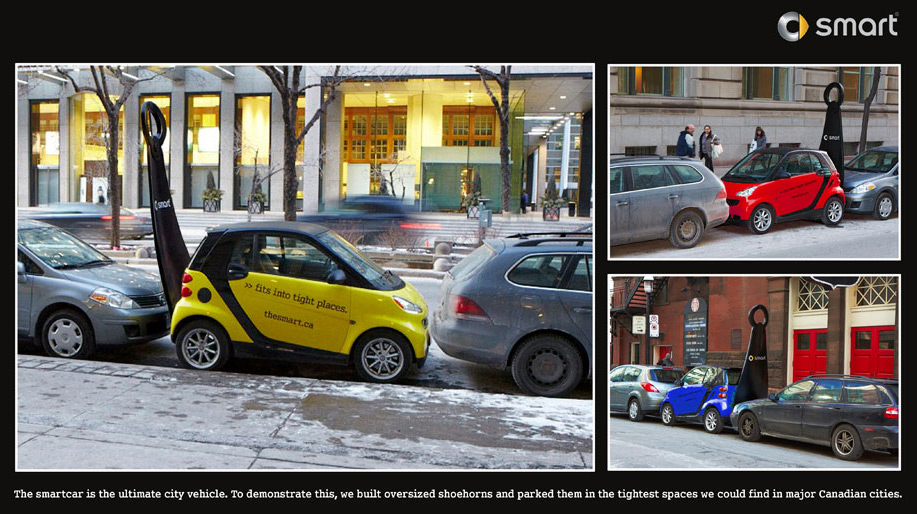 Clever Ads #2: Smart Fortwo
